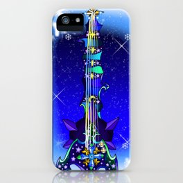 Fusion Keyblade Guitar #146 - Diamond Dust & Star Seeker iPhone Case