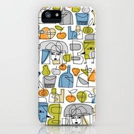 DOODLE MANIA iPhone Case