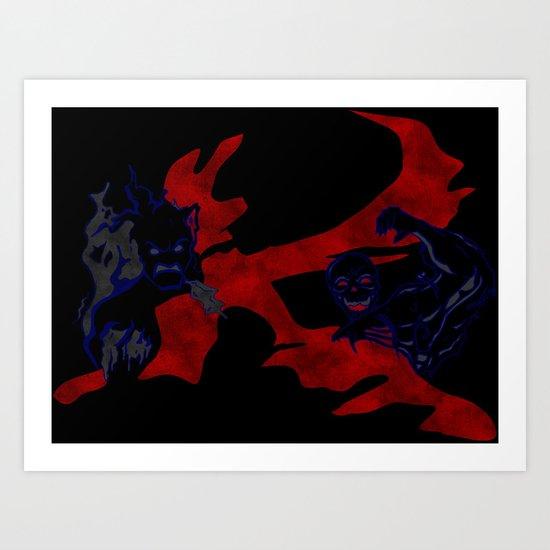 Hexxus Art Print