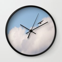 Osprey in Blue Sky #decor #society6 #buyart Wall Clock
