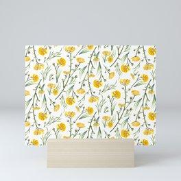 Buttercups Mini Art Print