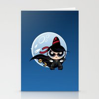 powerpuff girls Stationery Cards featuring Powerpuff Bayonetta by Marco Mottura - Mdk7