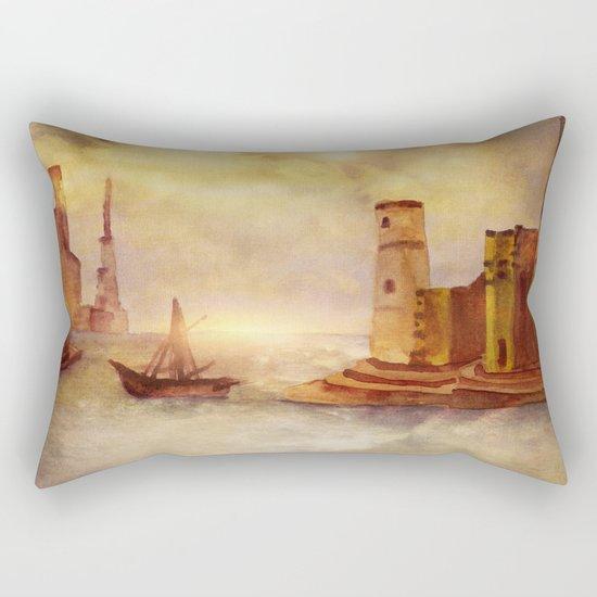Sun City Rectangular Pillow