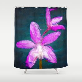 Laelia ghillanyi Orchid Shower Curtain