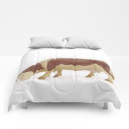 Cow grazing...  Comforters