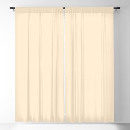 color blanched almond Blackout Curtain