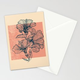 Hibiscus Colors Stationery Cards