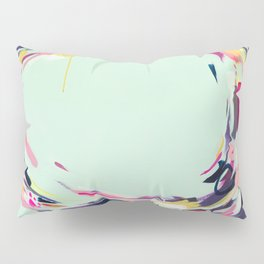 Life Aquatic - Abstract painting by Jen Sievers Pillow Sham