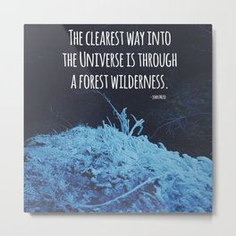 Forest Wilderness Metal Print