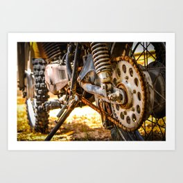 Rusty Miles Art Print