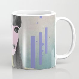 Her – The Girl With The Pink Face Coffee Mug