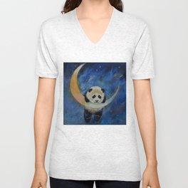 Panda Stars Unisex V-Neck