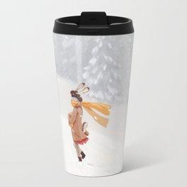 Snow storm Travel Mug
