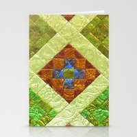 arab Stationery Cards featuring arab stained glass by tony tudor