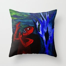 Dead Poet Throw Pillow