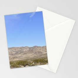 Mojave Desert Stationery Cards