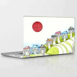 Brightly Coloured Houses Laptop & iPad Skin