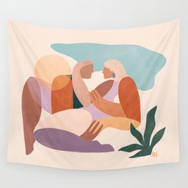 Dreamers no.7 (Sunrise) Wall Tapestry