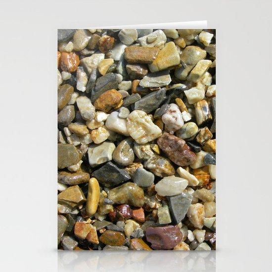 pebble stone I Stationery Cards