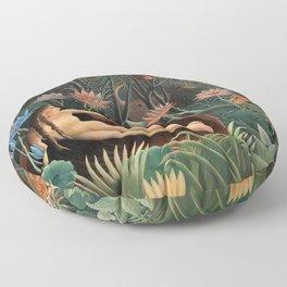 Henri Rousseau - The Dream Floor Pillow