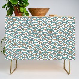 Funky Pattern Credenza
