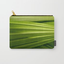 Green Leaf Carry-All Pouch