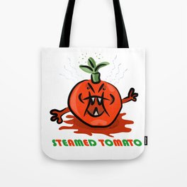Steamed Tomato Tote Bag