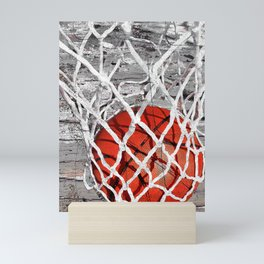 Basketball Art Mini Art Print