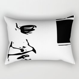 lonely Rectangular Pillow
