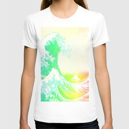 The Great Wave Rainbow T-shirt