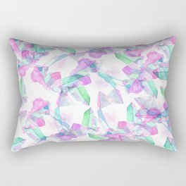kaleidoscopic quartz Rectangular Pillow
