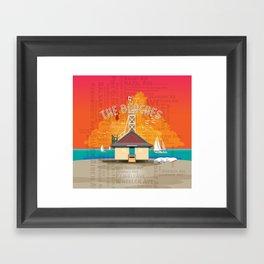 The Beaches Framed Art Print