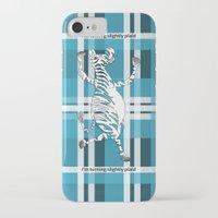zebra iPhone & iPod Cases featuring Zebra  by mailboxdisco