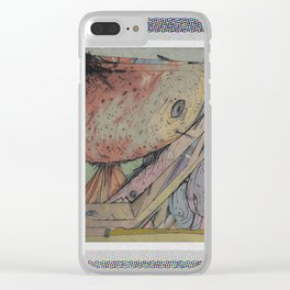 new world life. Clear iPhone Case