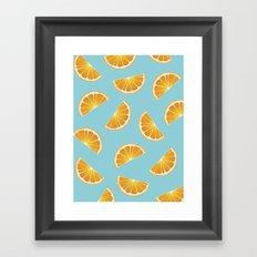 Orange You Glad? Framed Art Print