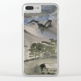 Bayern Mountain´s Clear iPhone Case
