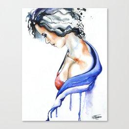 Loud Silence Canvas Print