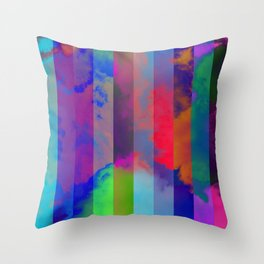 Rainbow Elements of Matter: AIR Throw Pillow