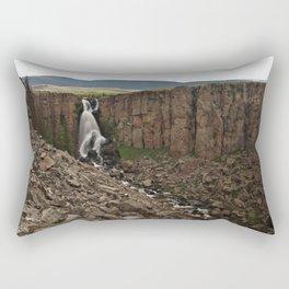 North Clear Creek Falls and Canyon Rectangular Pillow