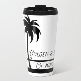 Golden-state of mind Travel Mug