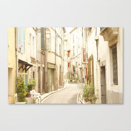 French Old Town Canvas Print