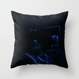 """Aghast; """"Avast.""""; Wizards Top.  Throw Pillow"""