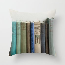 In the Study Throw Pillow