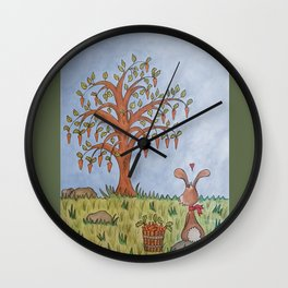 The tree of noms Wall Clock