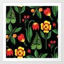 Botanic Watercolor Collection #9 by michailoavilov