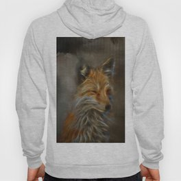 Abstract fox portrait Hoody