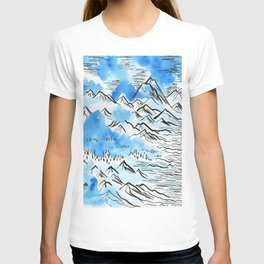 The Pyrenees as they appeared to me... T-shirt