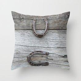 Luck symbols - Glueckssymbole Throw Pillow