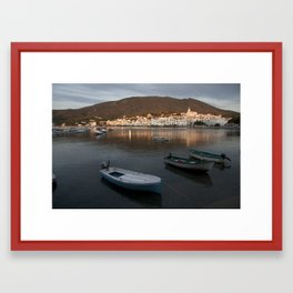 Sunrise in Cadaqués Framed Art Print