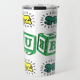 PURE (Keith Haring Tribute) Travel Mug